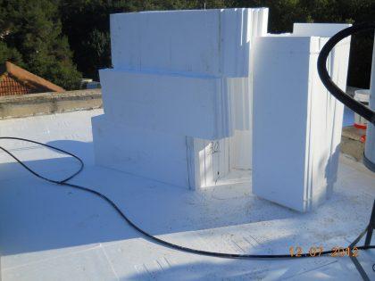 בנייה מתקדמת בשלד פלדה – שלבי גמר מבנה