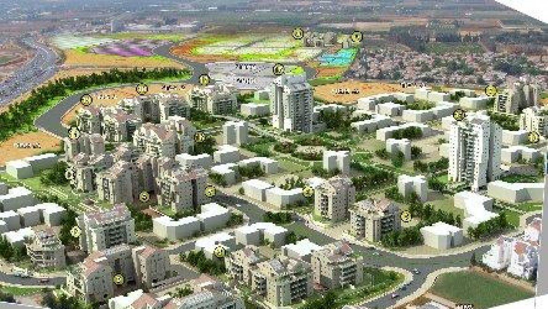 כפר סבא - שכונת כפר סבא הירוקה, הדמיה (אתר עיריית כפר סבא)