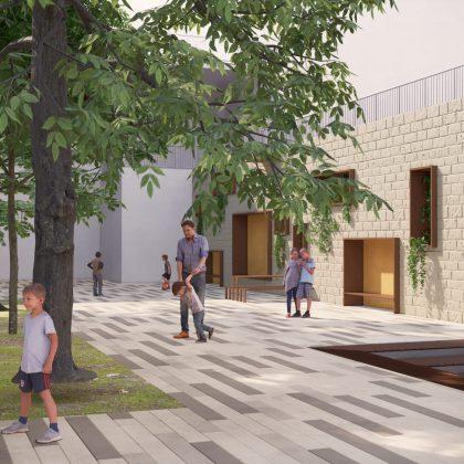 אדריכלות נוף חינוכית וירוקה – תכנון ראשוני