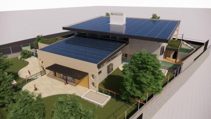 אדריכלות חינוכית מאופסת אנרגיה – מעון יום ומרכז קהילתי לגיל הרך, צור הדסה