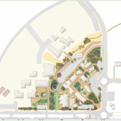 תכנית אב נופית ותכנון מפורט – מתחם מועצה אזורית רמת הנגב